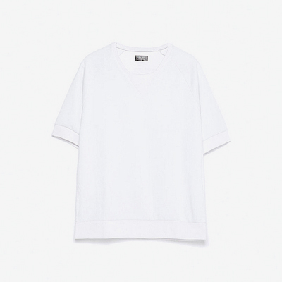 Basic Slub V-Neck Tee