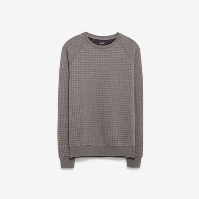 Melange Crew Neck Sweater